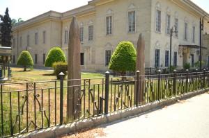 農業博物館のオベリスク