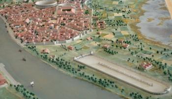 model of roman arles