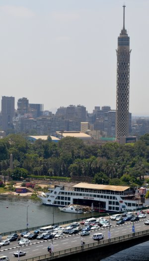 The Cairo Tower and the Obelisk