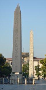 two obelisks