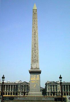 コンコルド広場のオベリスク