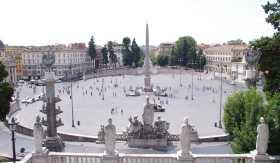 ポポロ広場の全景