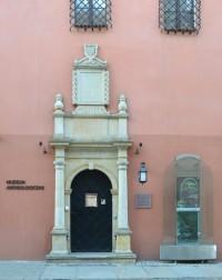 ポズナン考古学博物館の入口