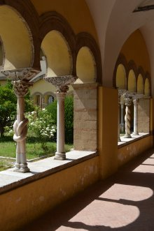 元修道院の回廊