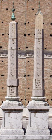 Restoration Image of Urbino Obelisk